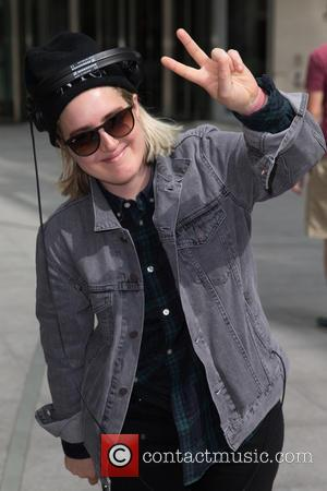Shura - Shura pictured arriving the Radio 1 studios at BBC Portland Place - London, United Kingdom - Friday 31st...