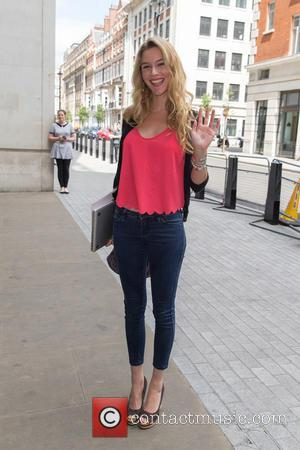 Joss Stone - Joss Stone pictured arriving at the Radio 1xtra studio to co-host the Sarah-Jane Crawford show at BBC...