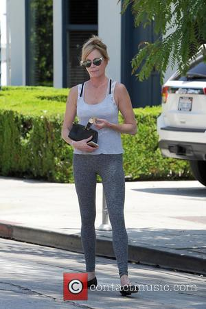 Melanie Griffith - Melanie Griffith spotted out running errands in West Hollywood - Los Angeles, California, United States - Friday...