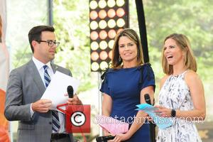 Carson Daily, Savannah Guthrie and Natalie Morales