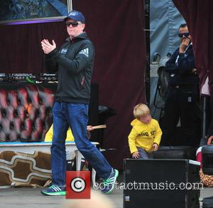 Chris Evans - Chris Evans opens the first day of CarFest North 2015 at Oulton Park in aid of Children...