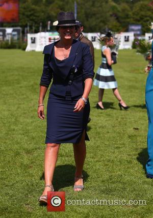 Davina McCall - Davina McCall and Jodie Kidd compete for the Best Dressed Lady at The Longines Royal International Horse...
