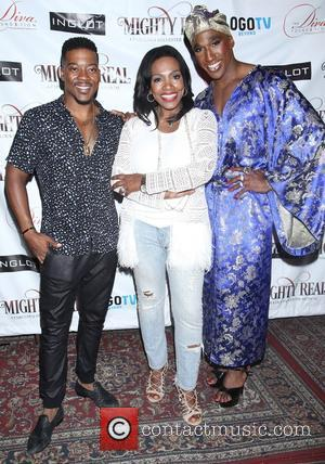 Kendrell Bowman, Sheryl Lee Ralph and Anthony Wayne