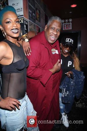 Sharaya J, Andre Leon Talley and Missy Elliott