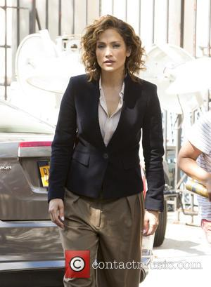 Jennifer Lopez - 'Shades of Blue' filming on location in New York City at Brooklyn, NY - New York, New...