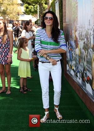 Angie Harmon - 'Shaun the Sheep Movie' Los Angeles special screening - Arrivals at Regency Village Theatre - Westwood, California,...
