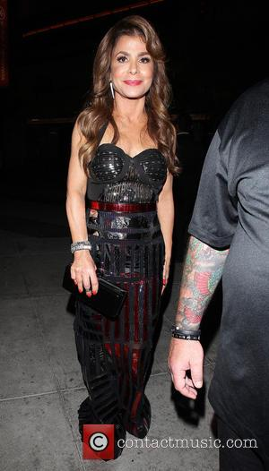 Paula Abdul - Celebrities leave L.A. Live after attending an event - Los Angeles, California, United States - Saturday 1st...