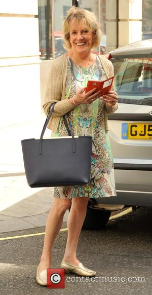 Esther Rantzen - Celebrities arrive at BBC for sunday radio shows at BBC Portland Place - London, United Kingdom -...