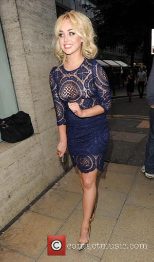 Jorgie Porter - Manchester Fashion Industry show held at The Restaurant Bar And Grill - Arrivals at Restaurant Bar Ad...
