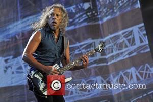 Kirk Hammett , Metallica - Lollapalooza Festival 2015 - Performances - Metallica at Grant Park, Lollapalooza - Chicago, Illinois, United...