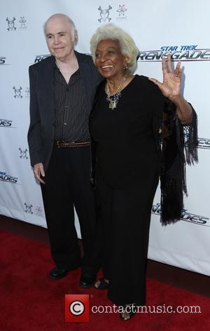 Walter Koenig and Nichelle Nichols