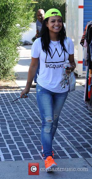 Christina Milian - Christina Milian smoking a Hookah cigarette as she goes out and about running errands in West Hollywood...