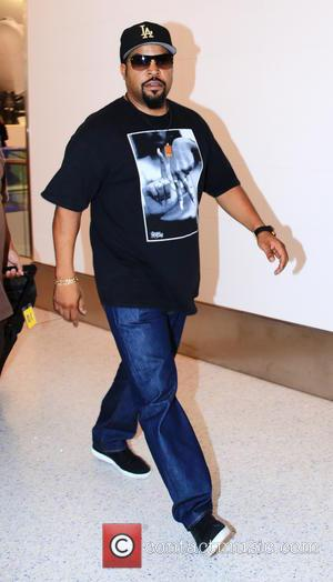Ice Cube - Ice Cube at Los Angeles International Airport (LAX) at LAX - Los Angeles, California, United States -...