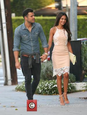 Mark Wright , Michelle Keegan - Mark Wright and Michelle Keegan at Craig's Restaurant in Beverly Hills at Beverly Hills...