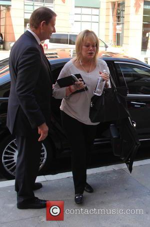 Candy Spelling - Candy Spelling leaves an office building at beverly hills - Los Angeles, California, United States - Monday...