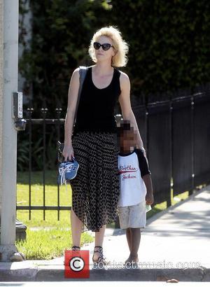 Charlize Theron and Jackson