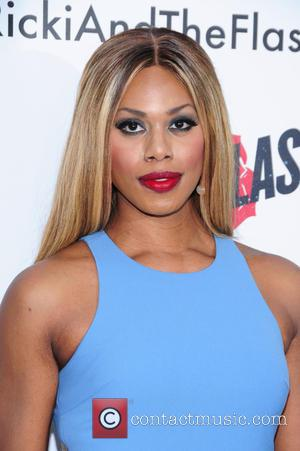 Laverne Cox - New York premiere of 'Ricki And The Flash' at AMC Lincoln Square Theater - Arrivals - New...