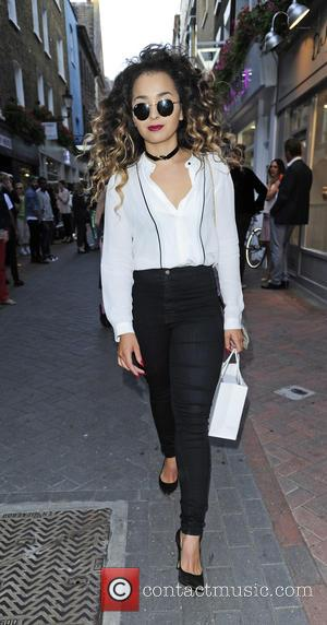 Ella Eyre - Zara Martin x Skinnydip London launch party celebrating the 'The Wild Collection' collaborative headphone range at the...
