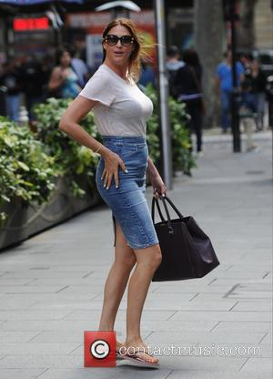 Lisa Snowdon - Lisa Snowdon seen out in London - London, United Kingdom - Tuesday 4th August 2015