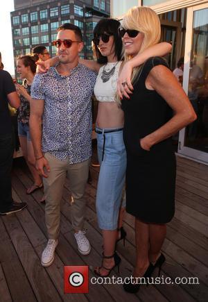 Michael Lohan Jr., Aliana Lohan and Dina Lohan