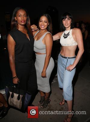 Swin Cash, La La Anthony and Aliana Lohan