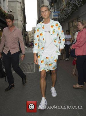 oliver proudlock - Skinnydip launch party - Arrivals - London, United Kingdom - Tuesday 4th August 2015