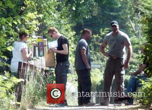 Til Schweiger - On set of Til Schweiger's latest Tatort movie in Lichterfelde - Berlin, Germany - Tuesday 4th August...