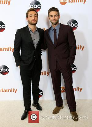 Ed Westwick , Chace Crawford - Disney ABC Television Group's 2015 TCA Summer Press Tour held at the Beverly Hilton...