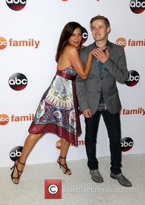 Constance Marie and Lucas Grabeel
