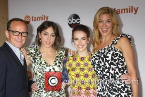 Clark Gregg, Chloe Bennet, Elizabeth Henstridge , Adrianne Palicki - ABC TCA Summer 2015 Party Arrivals at Beverly Hilton Hotel...