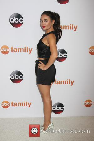 Janel Parrish - ABC TCA Summer 2015 Party Arrivals at Beverly Hilton Hotel - Beverly Hills, California, United States -...