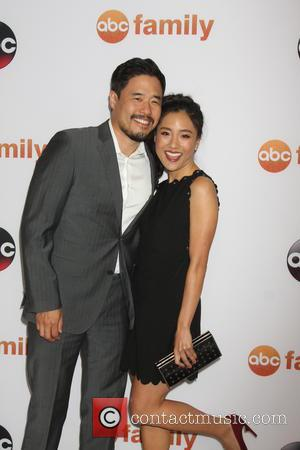 Randall Park and Constance Wu