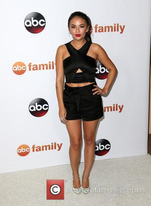 Janel Parrish - Disney ABC Television Group's 2015 TCA Summer Press Tour - Arrivals at The Beverly Hilton Hotel, Disney,...