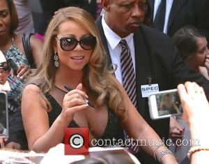 Mariah Carey - Mariah Carey seen receiving at star on the hollywood walk of fame. at Hollywood - Los Angeles,...