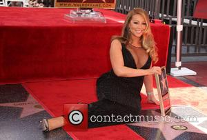 Mariah Carey - Mariah Carey honored with a star on the Hollywood Walk of Fame at On The Hollywood Walk...