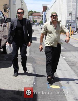 Nicolas Cage and Christopher Coppola
