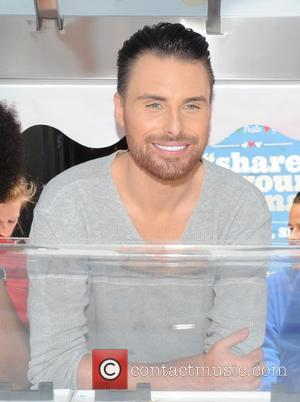 Rylan Clark - Rylan Clark in London's Leicester Square promoting ice cream at Bella Italia - London, United Kingdom -...