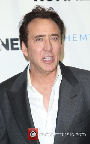 Nicolas Cage - Screening of 'The Runner' at TCL Chinese 6 Theatres - Arrivals - Los Angeles, California, United States...