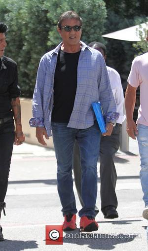 Sylvester Stallone - Sylvester Stallone leaves Cafe Roma in Beverly Hills - Los Angeles, California, United States - Wednesday 5th...