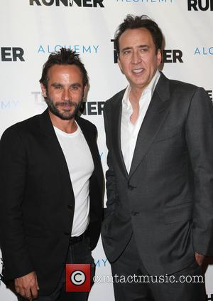 Austin Stark and Nicolas Cage