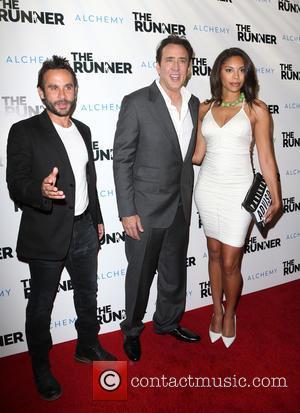 Austin Stark, Nicolas Cage and Ciera Payton