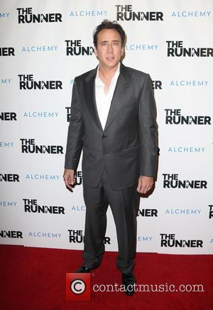 Nicolas Cage - Paper Street Films' screening of 'The Runner' - Arrivals at TCL Chinese 6 Theatres - Hollywood, California,...