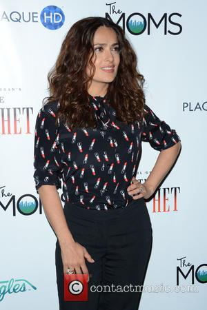 Salma Hayek - THE MOMS present 'A Mamarazzi Event' with  Salma Hayek Pinault celebrating her new film 'The Prophet'...