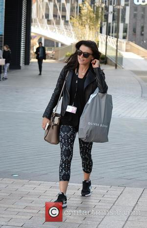 Faye Brookes - New members of the Coronation Street cast spotted at Media City after filming - Manchester, United Kingdom...