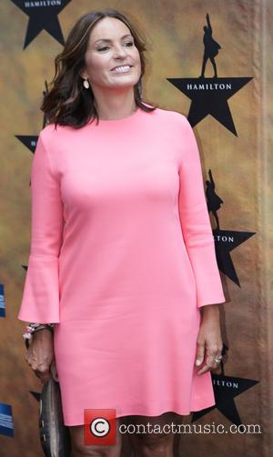 Mariska Hargitay - Opening night of the Broadway musical Hamilton at the Richard Rodgers Theatre - Arrivals. at Richard Rogers...