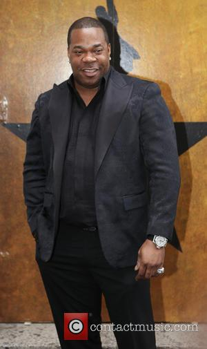 Busta Rhymes - Opening night of the Broadway musical Hamilton at the Richard Rodgers Theatre - Arrivals. at Richard Rogers...