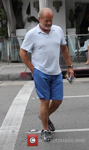 Kelsey Grammer - Kelsey Grammer out and about running errands with his wife picking up the dry cleaning at beverly...