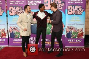 Antony Costa, Simon Webbe and Lee Ryan