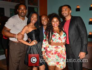 Nd Brown, Trey Haley, Brely Evans, Lamman Rucker and Christian Keyes