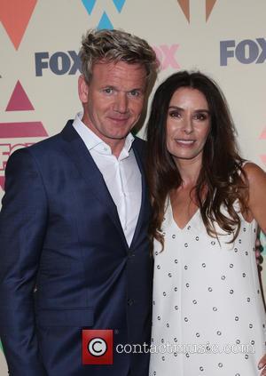 Gordon Ramsay , Tana Ramsay - 2015 Television Critics Association Summer Press Tour - FOX All-Star Party at SOHO HOUSE...